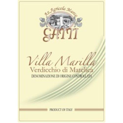 Wine MARCO GATTI VERDICCHIO DI MATELICA 'VILLA MARILLA' 2017