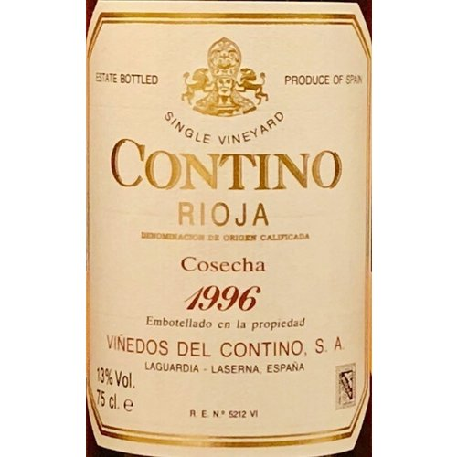 Wine CONTINO SINGLE VINEYARD RIOJA 1996