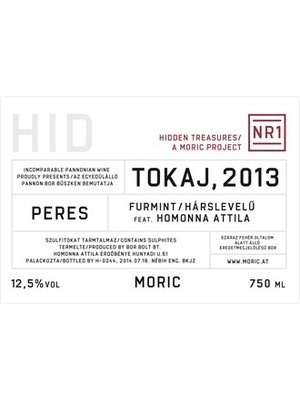 Wine MORIC HIDDEN TREASURES No 1 TOKAJ 2016
