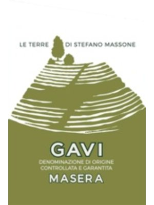 Wine MASSONE 'MASERA' GAVI 2017
