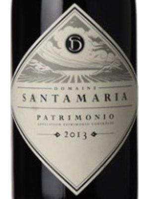 Wine DOMAINE SANTA MARIA PATRIMONIO ROUGE 2013