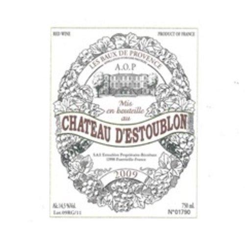 Wine CH D'ESTOUBLON LES BAUX DE PROVENCE ROUGE 2012