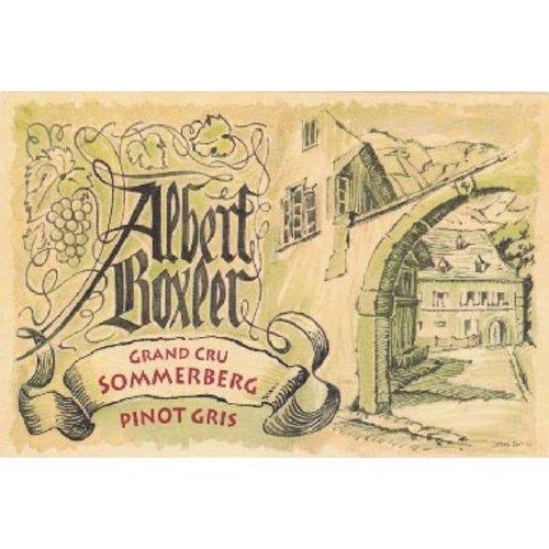 Wine ALBERT BOXLER PINOT GRIS SOMMERBERG GRAND CRU 2009