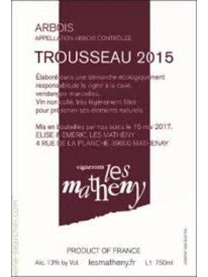 Wine LES MATHENY ARBOIS TROUSSEAU 2015