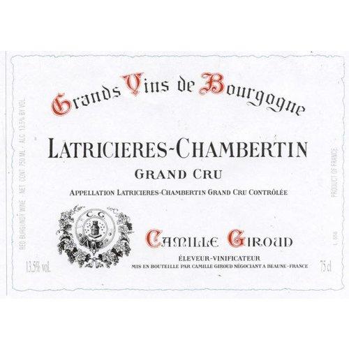 Wine CAMILLE GIROUD LATRICIERES CHAMBERTIN GRAND CRU 2009