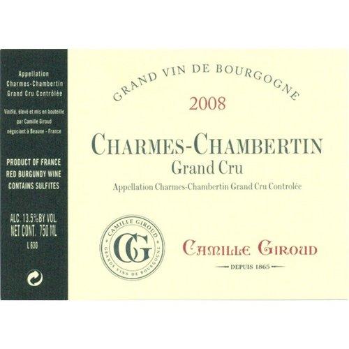 Wine CAMILLE GIROUD CHARMES CHAMBERTIN GRAND CRU 2009