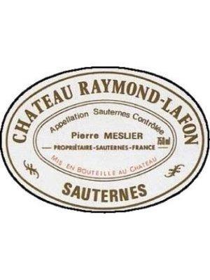 Wine CH RAYMOND-LAFON SAUTERNES 1985 6L