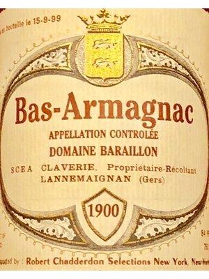 Spirits DOMAINE BARAILLON BAS ARMAGNAC 1900