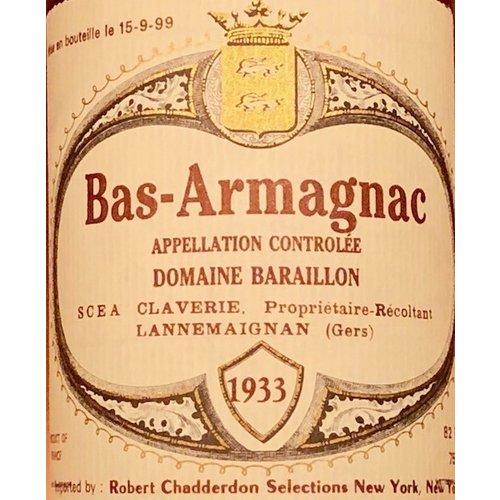 Spirits DOMAINE BARAILLON BAS ARMAGNAC 1933
