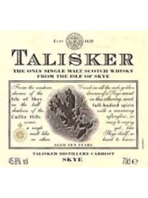 Spirits TALISKER 10YR SCOTCH