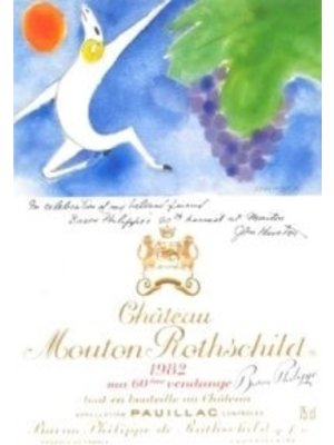 Wine CH MOUTON ROTHSCHILD 1982 (OWC-CASE ONLY)