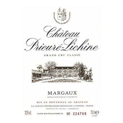 Wine CH PRIEURE LICHINE 1978 6L