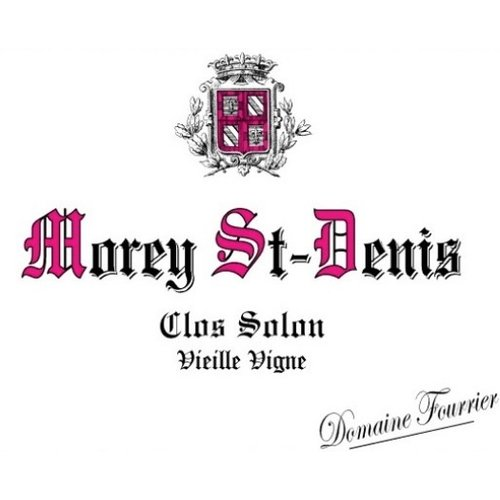 Wine FOURRIER MOREY SAINT DENIS 'CLOS SOLON' 2016
