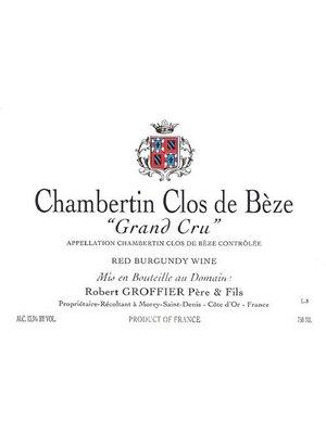 Wine ROBERT GROFFIER CHAMBERTIN-CLOS DE BEZE GRAND CRU 2013