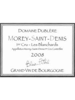 Wine DUBLERE MOREY SAINT DENIS 'LES BLANCHARDS' 1ER CRU 2009