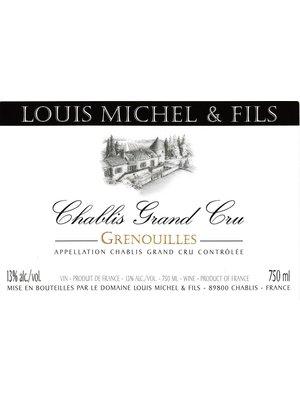 Wine LOUIS MICHEL CHABLIS GRENOUILLES GRAND CRU 2006 3L