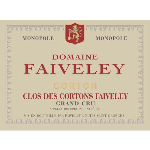 Wine FAIVELEY CORTON-CLOS DES CORTONS FAIVELEY GRAND CRU 2015