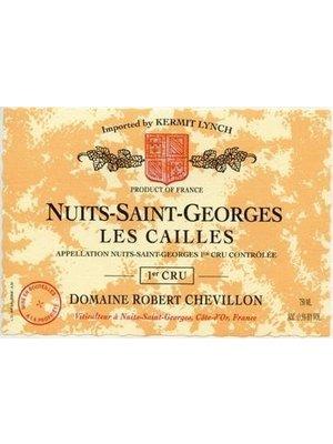 Wine ROBERT CHEVILLON NUITS SAINT GEORGES 'LES CAILLES' 1ER CRU 2014