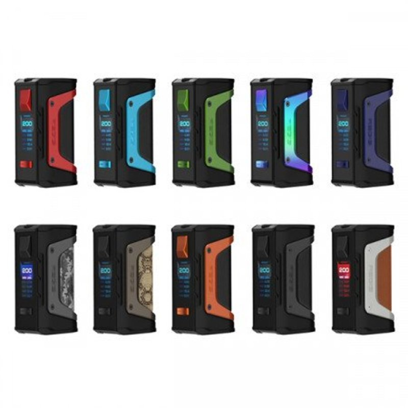 GeekVape GeekVape - Aegis Legend 200w Box Mod (Batteries Sold Separately)