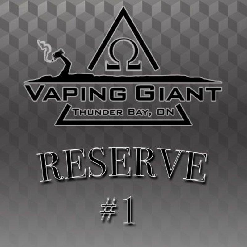 Vaping Giant Vaping Giant - Reserve #1 (60ml)