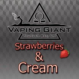 Vaping Giant Vaping Giant - Strawberries & Cream (60ml)