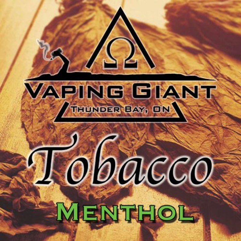 Vaping Giant Vaping Giant - Tobacco Menthol (60ml)