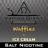 Vaping Giant Vaping Giant - Waffles & Ice Cream [Salt Nicotine] (30ml)