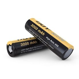iJoy iJoy - 20700 40A 3000mAh Flat Top Battery