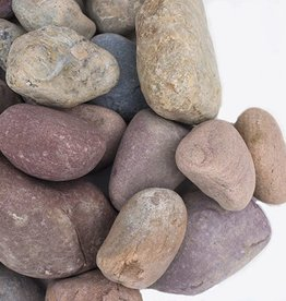 CLS Landscape Supply 75mm-125mm Montana Rainbow Rock - The Landscape Bag