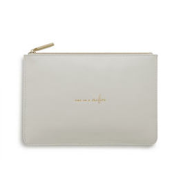 Katie Loxton One in a Million Pale Gray Perfect Pouch