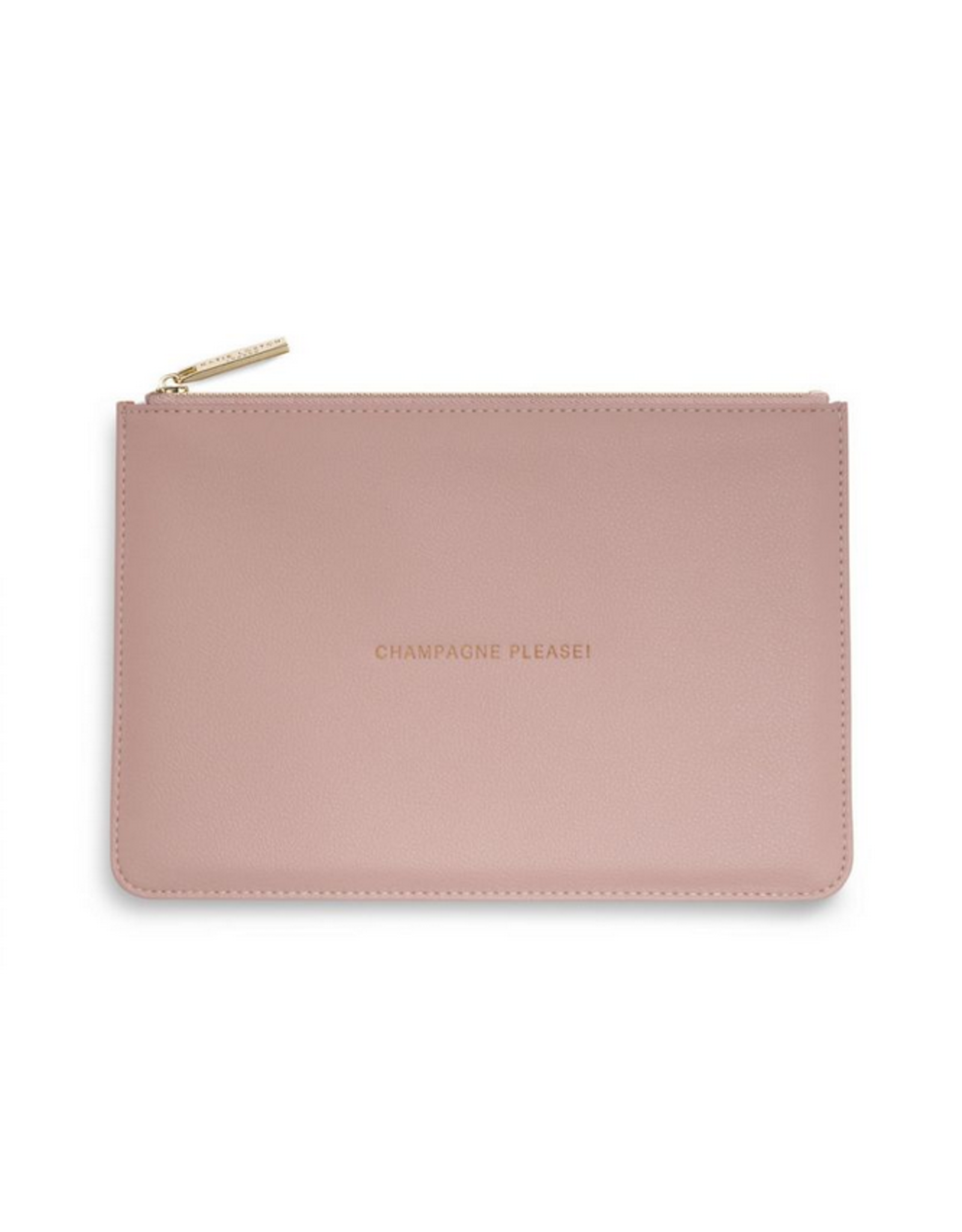 Katie Loxton Champagne Please Perfect Pouch in Pink