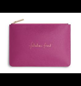 Katie Loxton Fabulous Friend Cerise Pink Perfect Pouch
