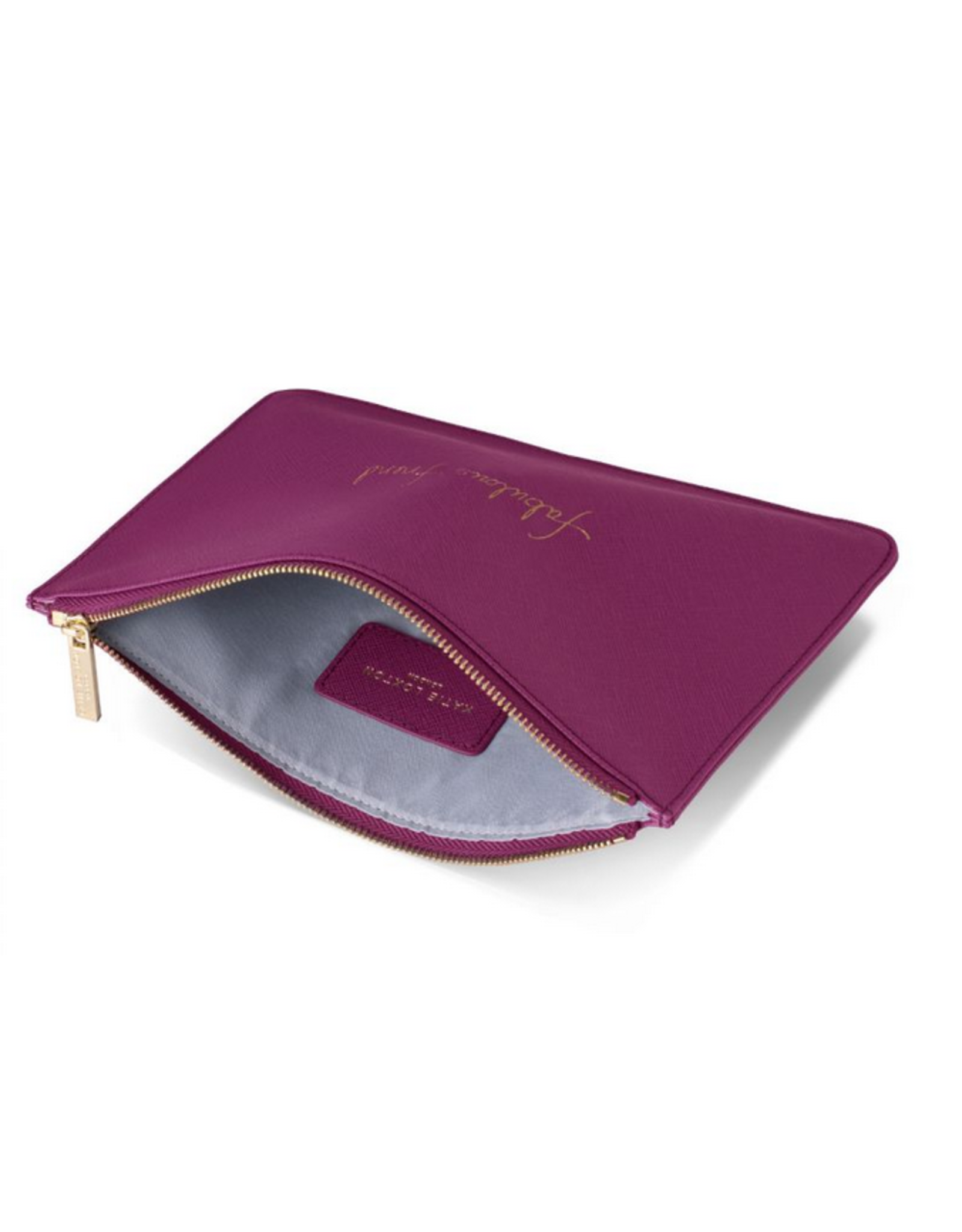 Katie Loxton Fabulous Friend Perfect Pouch in Cerise Pink