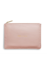 Katie Loxton Mom in a Million Perfect Pouch in Light Pink
