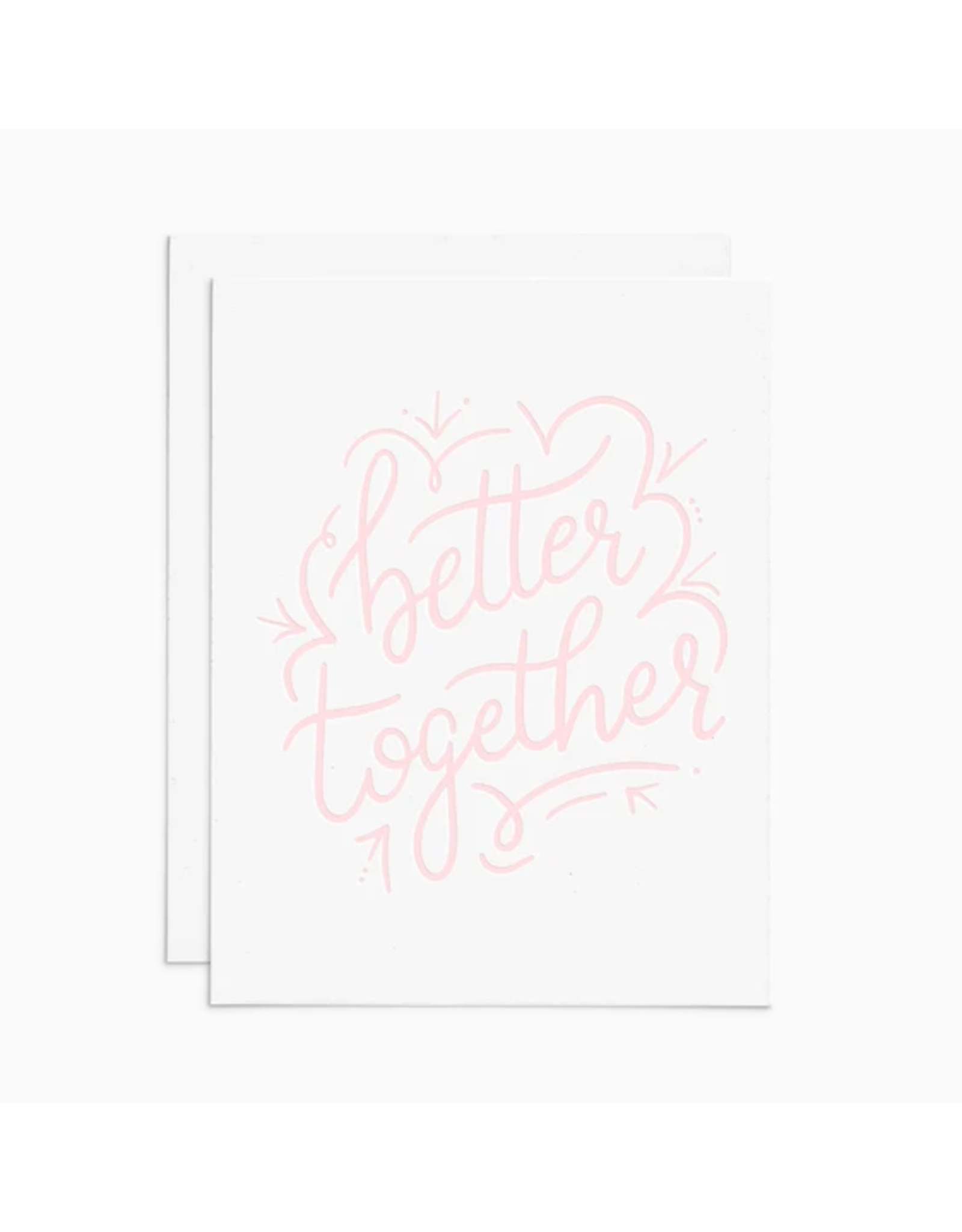 Frankie & Claude Better Together Card