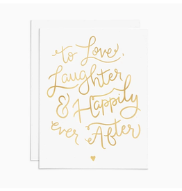 Frankie & Claude Love, Laughter, & Happily Ever After Card