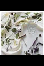 June & December Cocktail Herbs Kitchen Towel