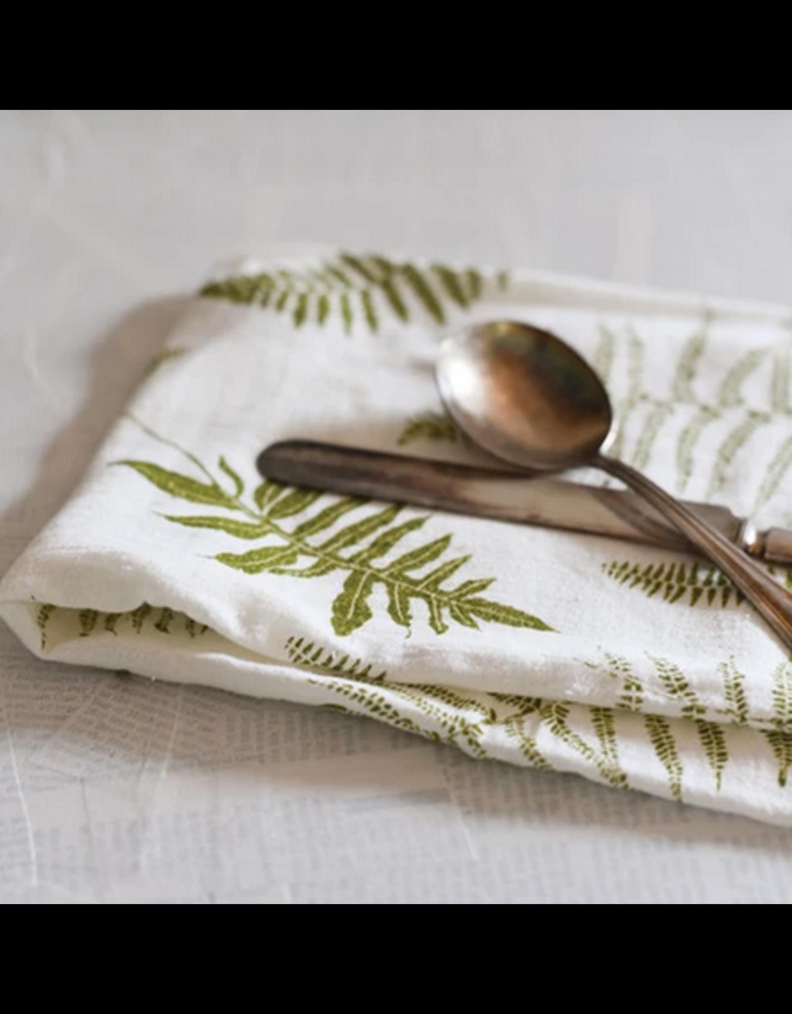 June & December Fronds Kitchen Towel