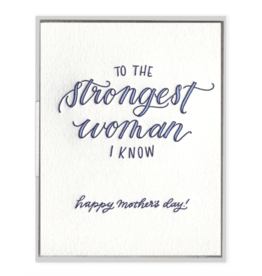 Strongest Woman I Know Card