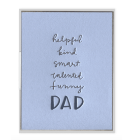 Ink Meets Paper Dad Attributes Card