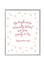 Ink Meets Paper Family to Me Mother's Day Card