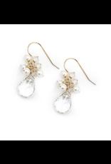 Hazen & Co Meredith Earring Moonstone Pearl Gold Hazen & Co