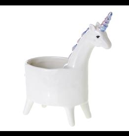 "Lolly Unicorn Planter 5.75"" x 3"" x 7"""