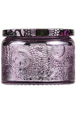 Voluspa Japanese Plum Bloom Petite Glass Jar Candle