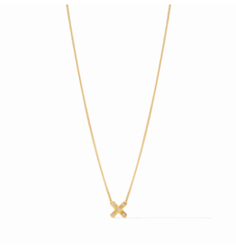 Julie Vos Paris X Charm Necklace by Julie Vos