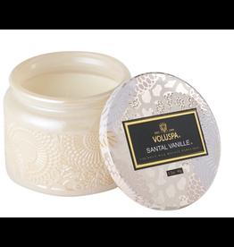 Voluspa Santal Vanille Petite Glass Jar Candle