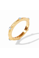 Julie Vos Catalina Hinge Bracelet in Chalcedony Blue by Julie Vos