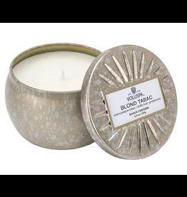 Voluspa Blond Tabac Petite Decorative Tin