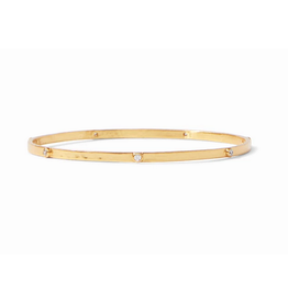 Julie Vos Crescent Bangle Zirconia by Julie Vos