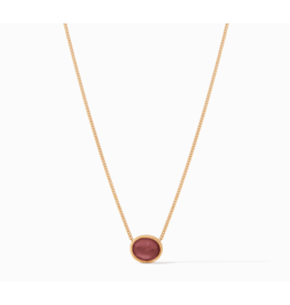 Julie Vos Verona Solitaire Necklace in Assorted Colors by Julie Vos